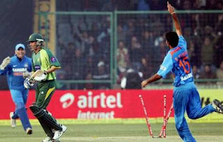 India vs Pakistan 3rd ODI 2013 Highlights