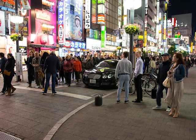 Bentley in Shinjuku Tokyo