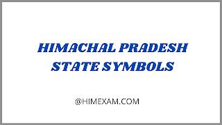 Himachal Pradesh State Symbols