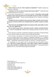 5. Sınıf Kuranı Kerim Ders Kitabı Cevapları Mevsim Yayınları Sayfa 14