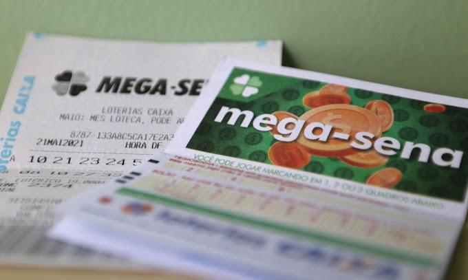 Aposta de Teresina leva sozinha prêmio da Mega-Sena; veja os números