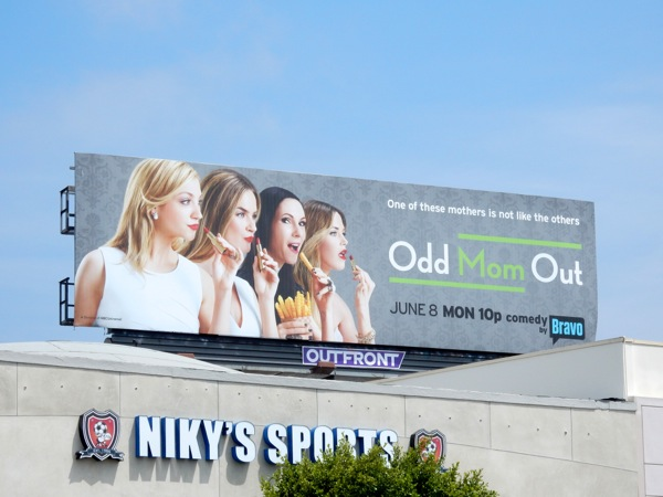 Odd Mom Out season 1 billboard