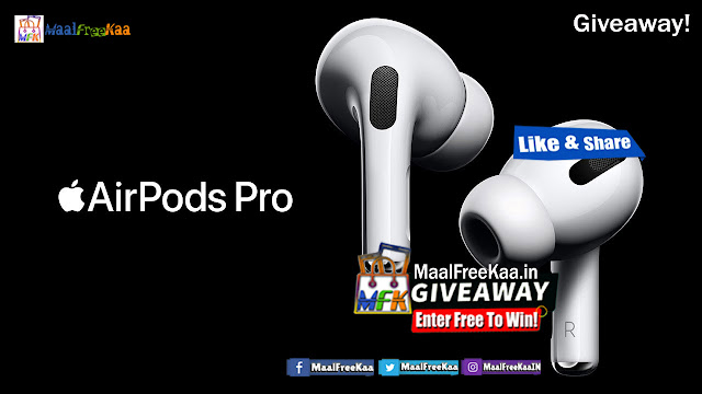 Get Free Apple AirPods PRo By Giveaway