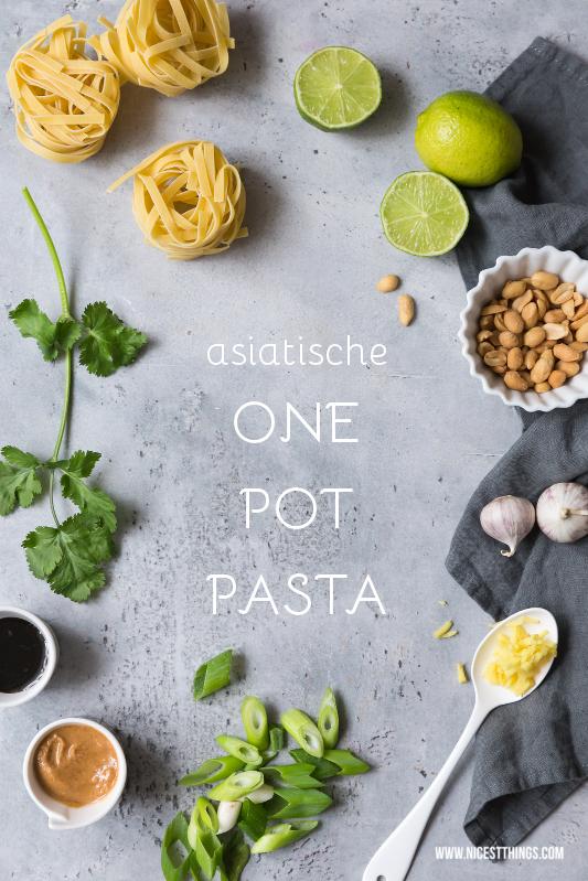 Asiatische One Pot Pasta Rezept