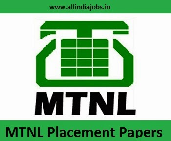 MTNL Placement Papers