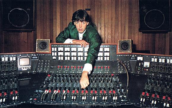 La console TG12345 MK IV des studios Abbey Road aux enchères