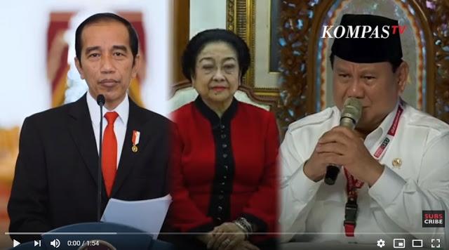 """Selamat! Prabowo Sudah Dapat """"Restu"""" Jokowi-Megawati Untuk Jadi Presiden RI 2024"""
