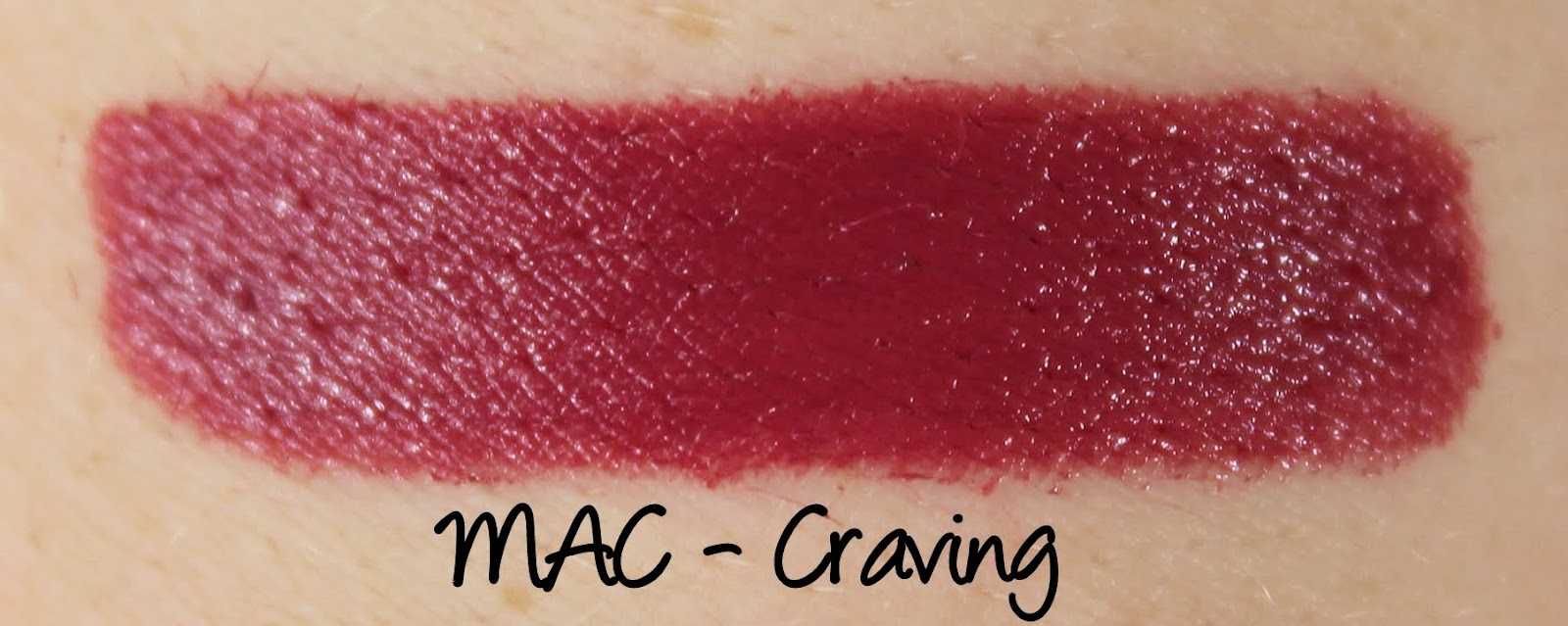 MAC Craving Lipstick Swatches & Review
