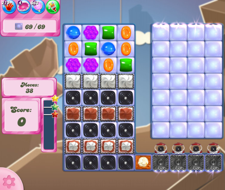 Candy Crush Saga level 2710