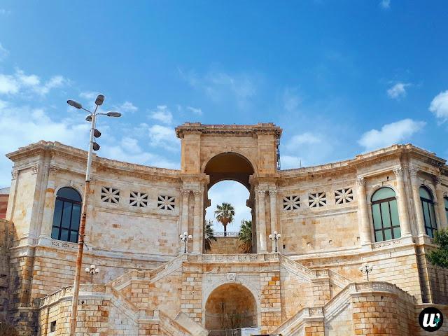 Bastione di Saint Remy, Cagliari | Sardinia, Italy | wayamaya