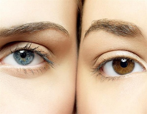 Changing the color of the eyes without lenses