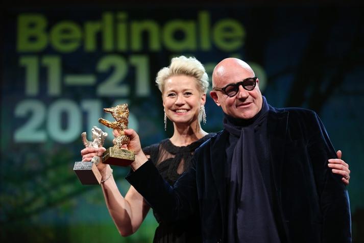 Gianfranco Rosi y Trine Dyrholm