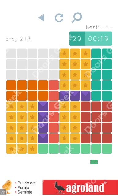 Cheats, Walkthrough for Blocks and Shapes Level 213