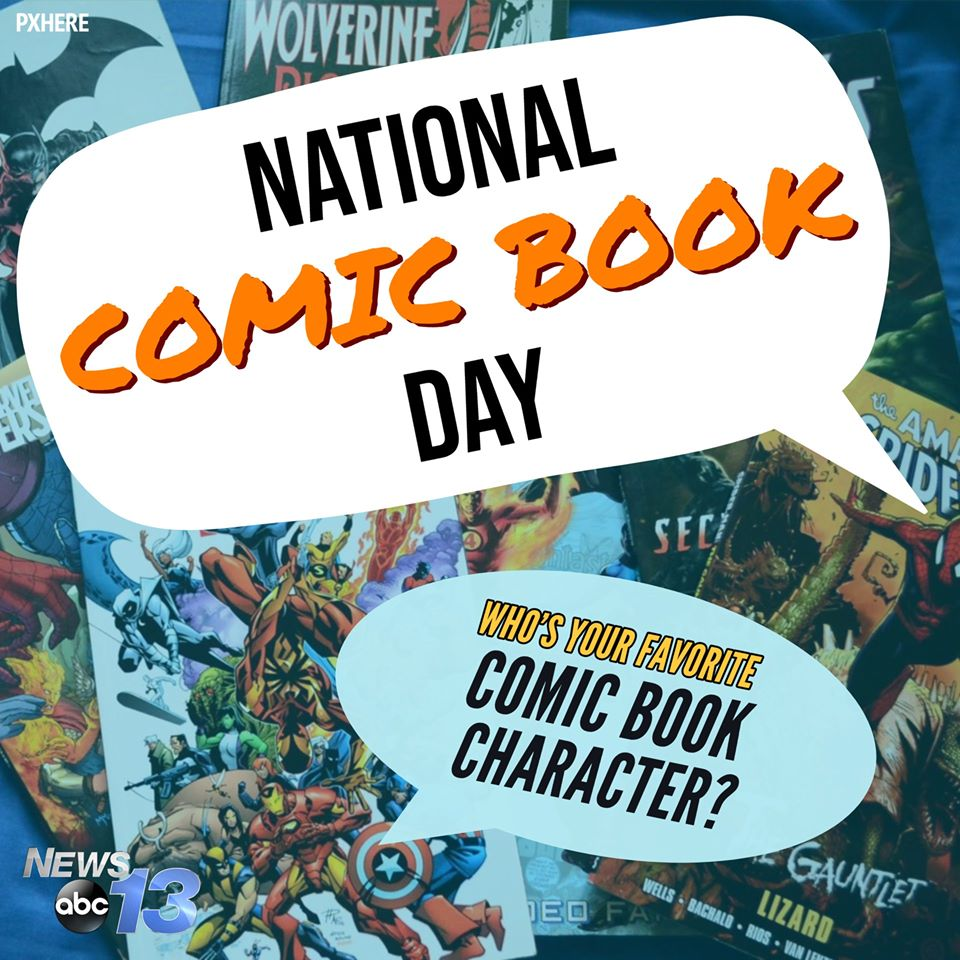 National Comic Book Day Wishes for Instagram