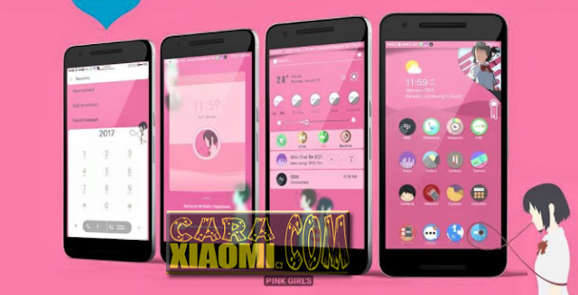 MIUI Couple Theme CoolBlue and SweetPink Mtz For Xiaomi