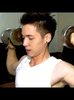 Stefan William si boy sixpack gym fitnes