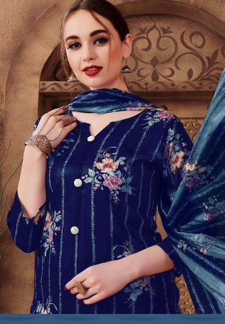 Nafisa Sehnaz Karachi Queen 2 Cotton Dress Material Collection