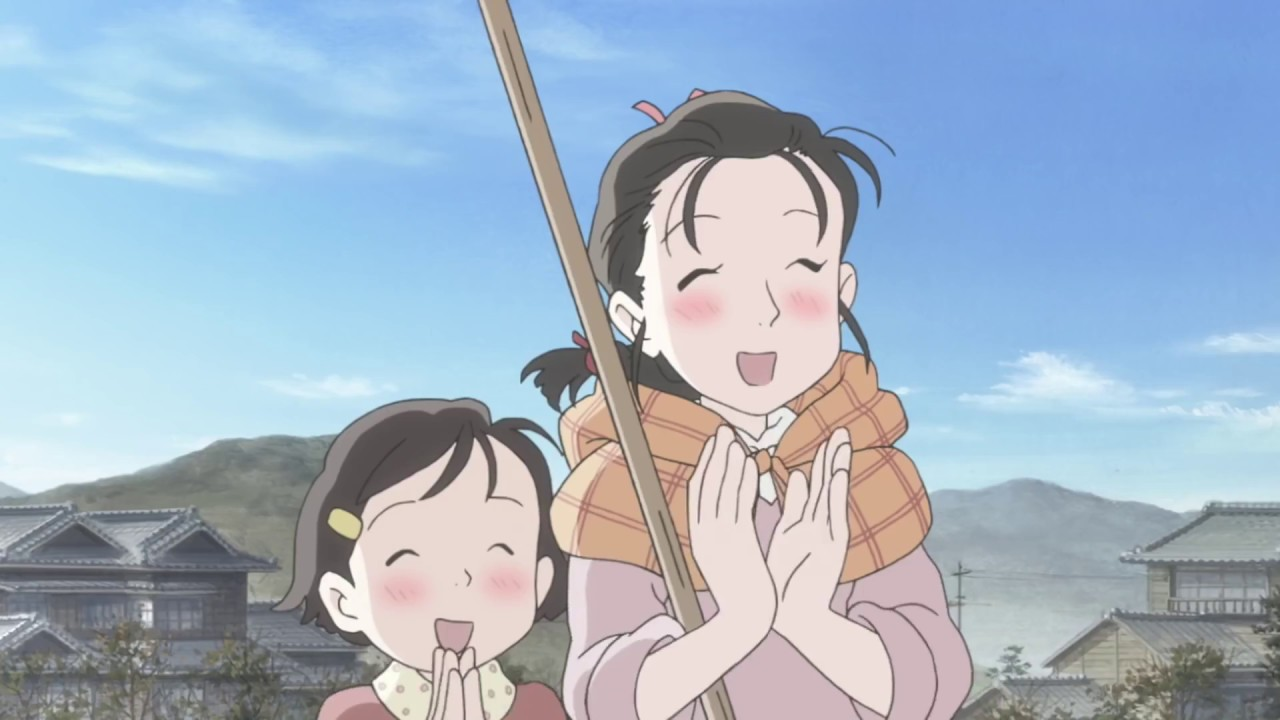 Kadr z filmu anime Kono Sekai no Katasumi ni