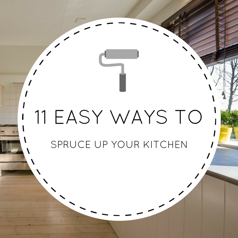 Wafflemama home style 11 easy ways to spruce up your kitchen this summer - Six ways to spruce up your balcony ...