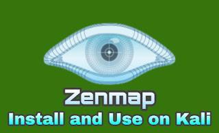 Zenmap install on Kali Linux 2021