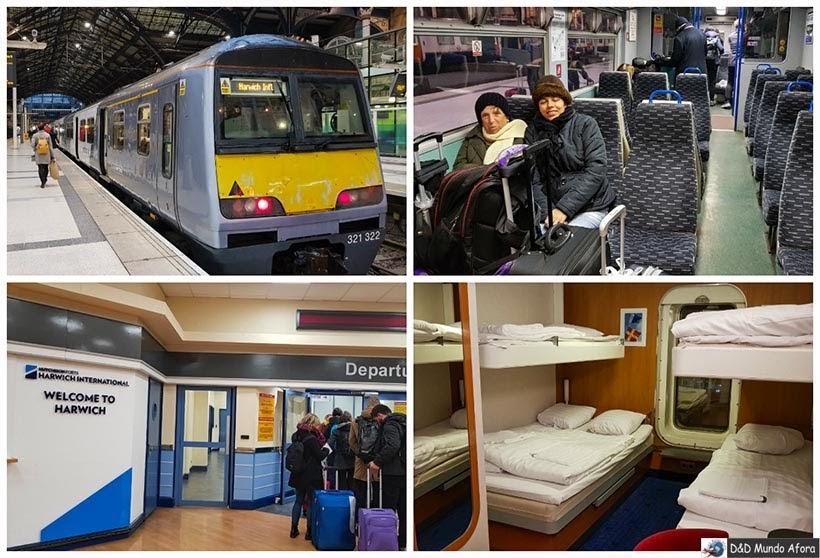 Como ir de Londres para Amsterdam de navio - Diário de Bordo - 5 dias em Londres
