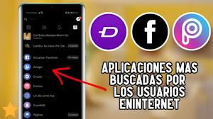 TOP 3! APLICACIONES para ANDROID mas BUSCADAS por los USUARIOS en INTERNET