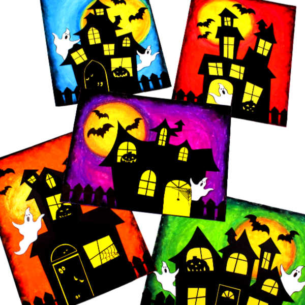 Haunted House Art