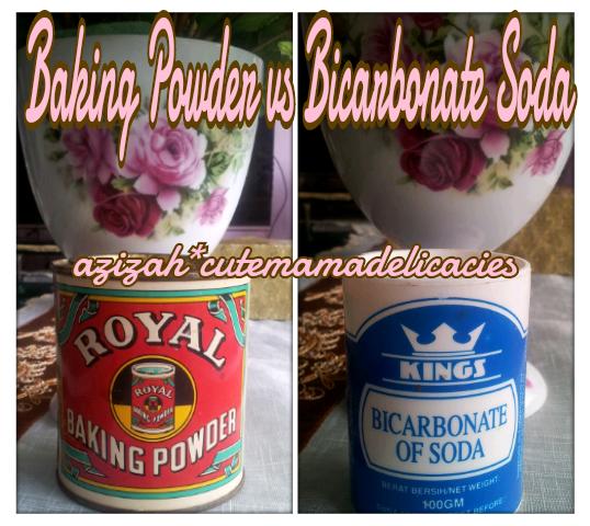Cute Mama Delicacies: BAKING POWDER vs BICARBONATE SODA