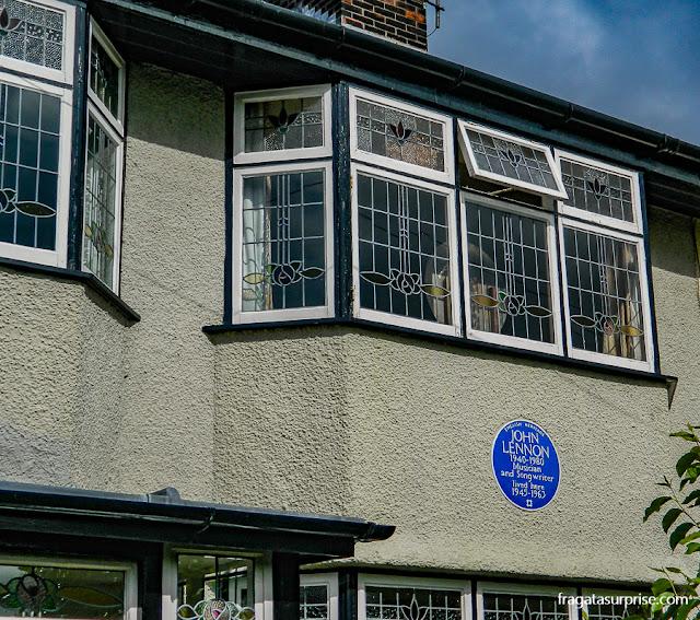 Mendips, casa de John Lennon em Liverpool