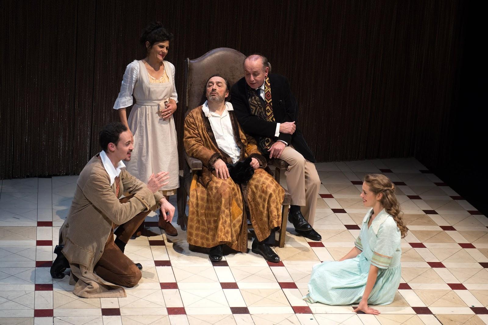 Resultado de imagen para El enfermo imaginario, la última y genial pieza de Molière, dirigida por Michel Didym, en el marco de la Temporada Internacional dedicada a Francia.