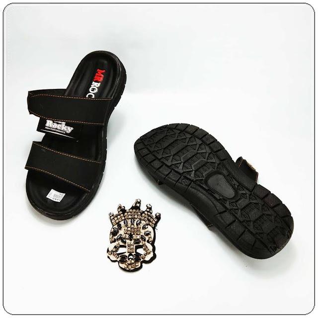 Sandal Kulit Imitasi Bahan Premium- Sandal OKL RDX- Sandal Pria Murah- GSJ