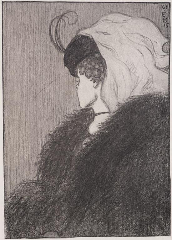 Ilusão de ótica Mulher jovem ou velha