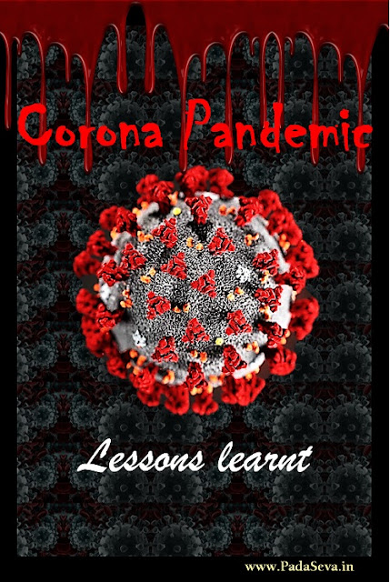 Corona Virus Pandemic - Lessons Learnt | COVID-19 | Padaseva.in