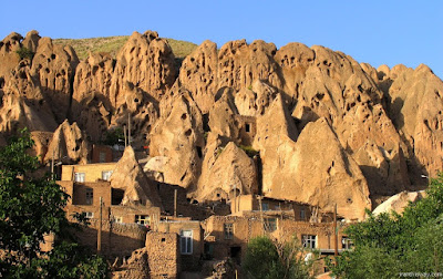 Gorgeous Kandovan is an extraordinary ancient village in the province of East Azarbaijan, near the city of Tabriz, Iran.