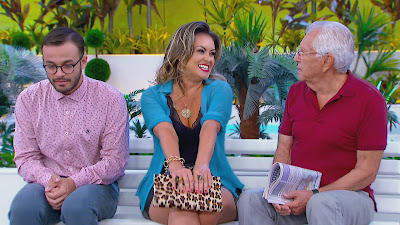 Davi, Renata e Carlos Alberto (Divulgação/SBT)