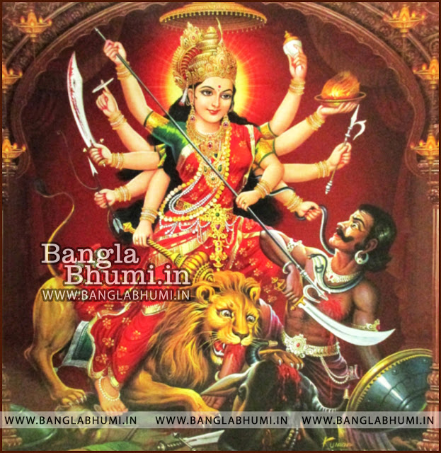 Maa Durga India God HD Poster Wallpaper Free Download