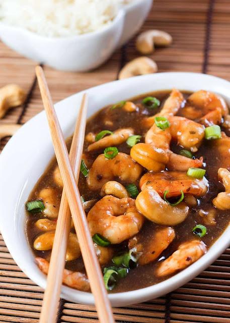 Chinese Shrimp with Cashew - 3