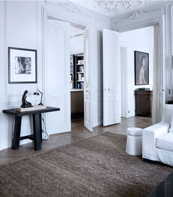 Gilles & Boissier design living room via belle vivir blog