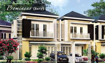 desain rumah ukuran 8x17 meter 2 kamar tidur 2 lantai