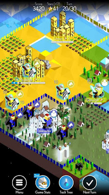 Game Strategi Offline untuk android 2017-2018 The Battle for Polytopia
