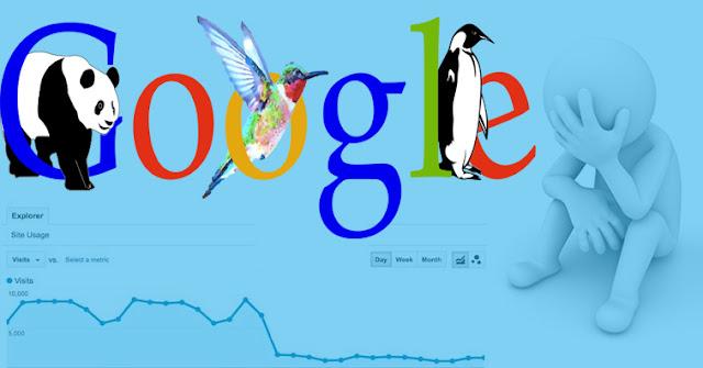 كيف تعرف ان كان موقعك معاقب من جوجل ام لا