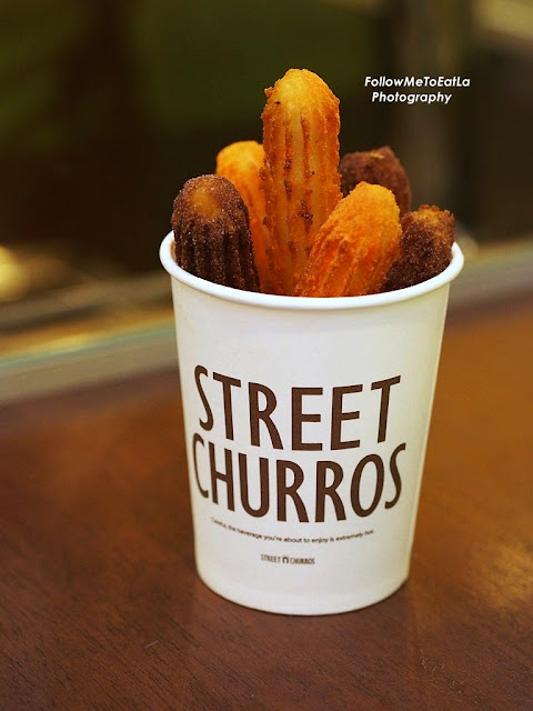 Stick Churros Chocolate + Cheese RM 9.90