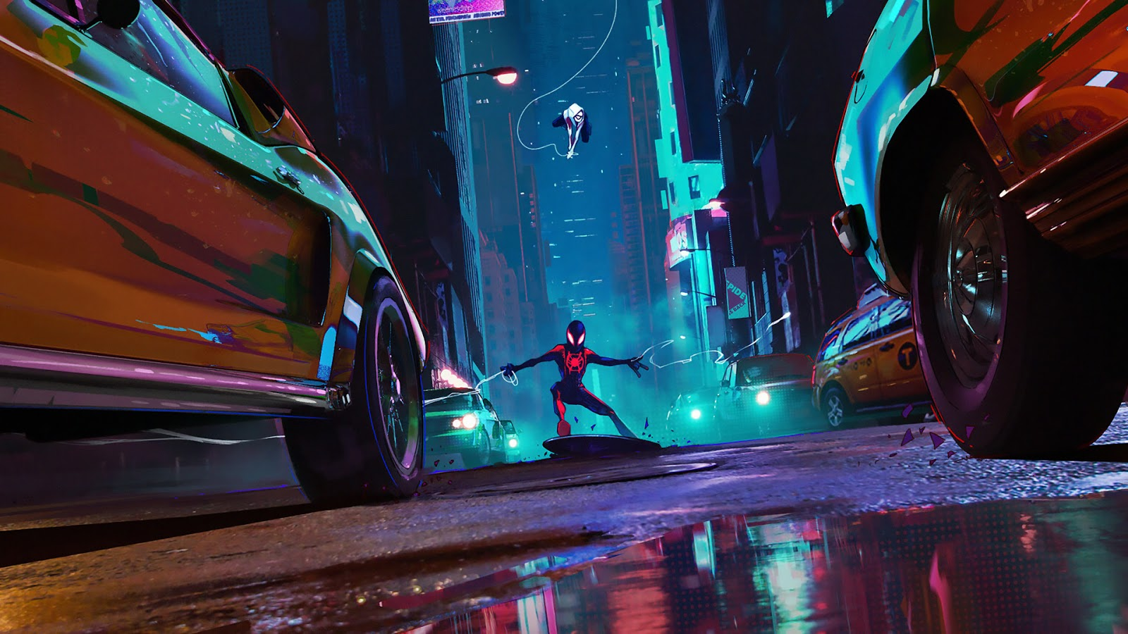 spider man into the spider-verse