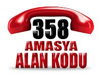 0358 Amasya telefon alan kodu