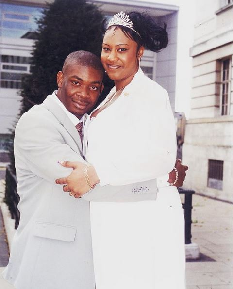 Wedding Pictures of Don Jazzy And His Ex-Wife 18 Years Ago