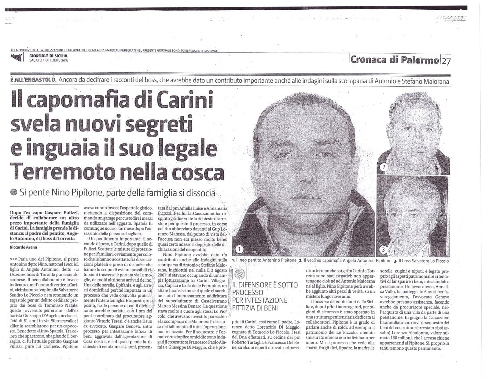 099a07baf9 Palermo, la scomparsa dei Maiorana svolta nelle indagini. Indagato per  omicidio il costruttore Alamia
