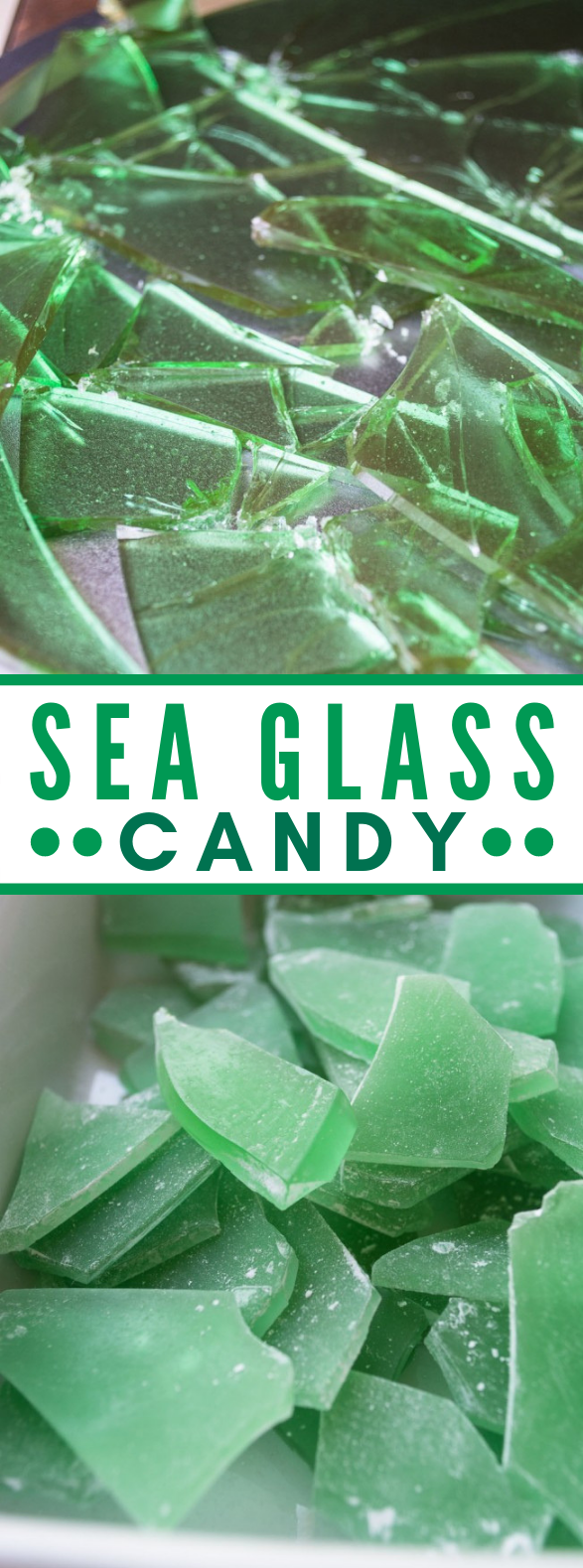 SEA GLASS CANDY #sweets #homemade