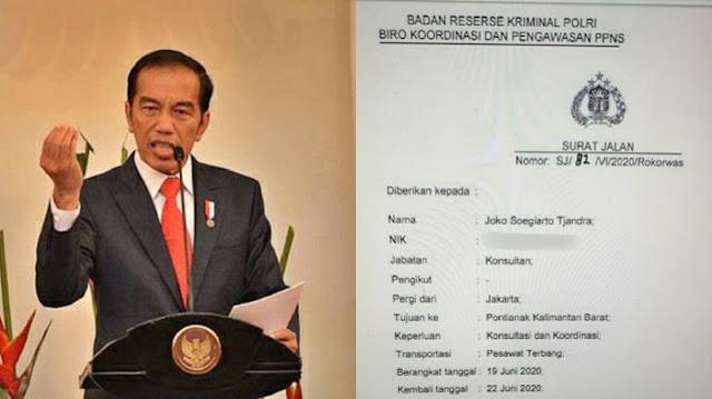 Misteri Kemarahan Jokowi di Hari Bersamaan dengan Terbitnya Surat Sakti Djoko Tjandra