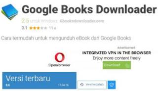 cara download buku di google book di laptop