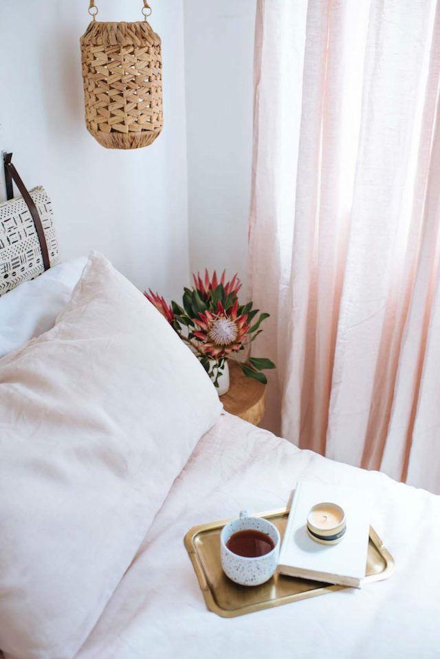 DIY cortinas nuevas sin coser